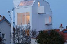 Архитектура: Дом близ Нанта с дзен-характером и фасадами из мембраны