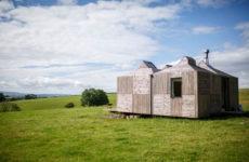 Британия: Инновационный мини-дом на шотландской ферме