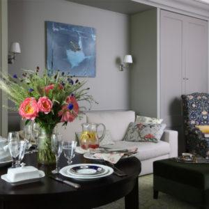 Английский стиль и ботаника в московской квартире