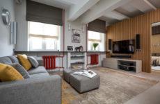 Геометрические игры в дизайне небольшой квартиры