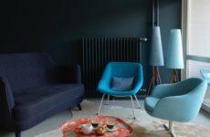 Германия: Ностальгическая «нимейеровская» квартира в Берлине