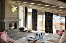 Франция: Уютный пентхаус в Валь д'Изер в стиле шале