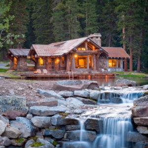 США: Деревенский дом с эко-технологиями в Скалистых Горах