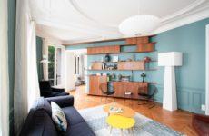 Франция: Сдержанность 1950-х в одной парижской квартире