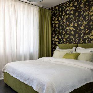 Яркая квартира с гардеробной и баром на 29 кв.м