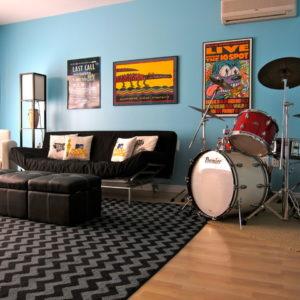 Идеи планировки: Как организовать музыкальную комнату