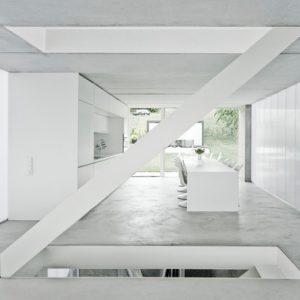 Архитектура: Cветлый эко-коттедж на холме в Эсслингене