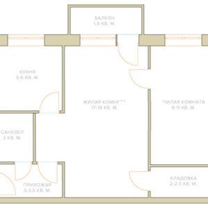 Не ремонт: Четыре варианта расстановки мебели в двухкомнатной хрущевке