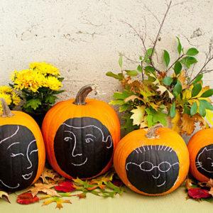 DIY: Cемейный портрет на Хэллоуин