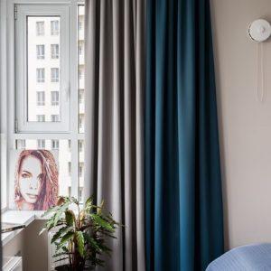 Вопрос: Как исправить недостатки окна при помощи штор
