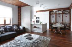 Современная квартира c концептуальной архитектурой