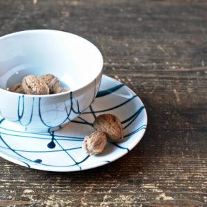 DIY: Чайная пара в стиле Джексона Поллока