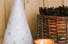DIY: Как сделать самую теплую новогоднюю елочку своими руками