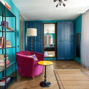 Квартира в духе парижского винтажа для терьеров и хозяйки