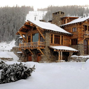 США: Дом в горах Монтаны, сочетающий элегантность и ремесло