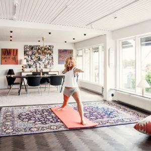 Швеция: Дом на побережье, где царит мода
