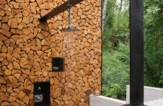 США: Современная интерпретация бревенчатого дома в Монтане