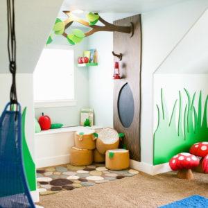 Детская недели: Комната-сказка для маленьких эльфов и фей