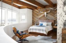 Проект недели: Спальня с богемным шиком в Сан-Франциско