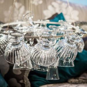 DIY: Хрустальная люстра своими руками