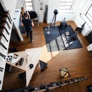 США: Монохромный стиль в нью-йоркском лофте