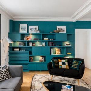Франция: Новые комнаты и уют после ремонта в парижской квартире