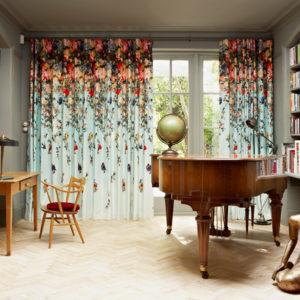 Британия: Искусство и эффектный интерьер в лондонской квартире