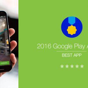 Приложение назвали приложением 2016 года на Google Play