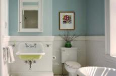Есть идея: Альтернатива кафелю на стенах ванной комнаты