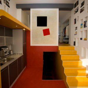 Квартира-ячейка в доме на Гоголевском бульваре