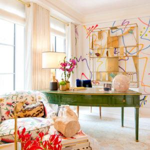 Микротренды: Глянец и яркие краски на выставке Kips Bay Decorator Show