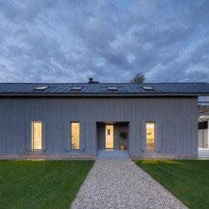 Деревянный дом с нордическим характером