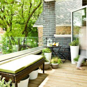 Фотоохота: 86 дизайн-идей для небольшого открытого балкончика