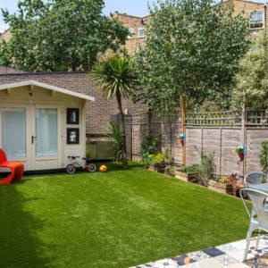 Британия: Яркий и творческий семейный дом в Лондоне
