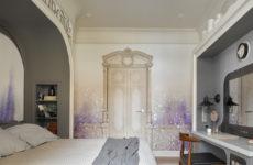 Проект недели: Дизайн спальни 18 кв.м — сонное царство и космос