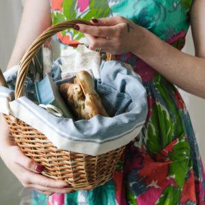 DIY: Как сделать корзину для пикника своими руками