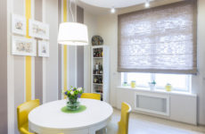 Квартира в скандинавском стиле с зоной для игры в шахматы