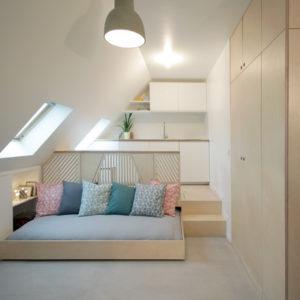 Франция: Квартира-студия площадью 15 кв.м в Париже