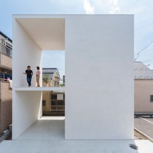 Япония: Дом с тайной комнатой в Токио