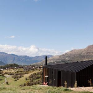Новая Зеландия: Дом-корабль высоко над уровнем моря
