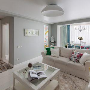 Белоруссия: Квартира в скандинавском стиле в Минске