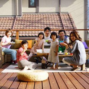 Япония: Дом арт-директора для семьи и друзей