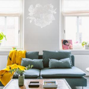 Швеция: Винтаж и минимализм в квартире в Гетеборге