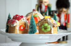 Своими руками: Новогодние домики из печенья