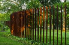 Модная ржавчина: Кортеновская сталь в ландшафтном дизайне