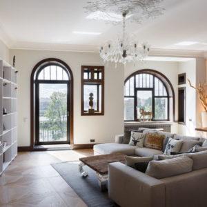 Лофт, этно-шик и минимализм в одной питерской квартире