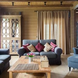 Domasan-Дом из бруса с курительной комнатой