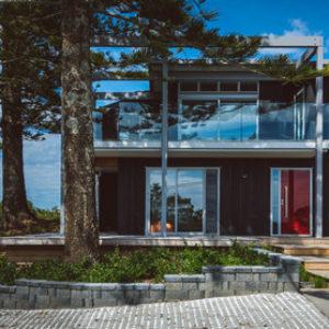Новая Зеландия: Загородный дом на острове