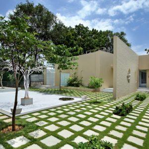 Индия: Тихая резиденция в современном стиле