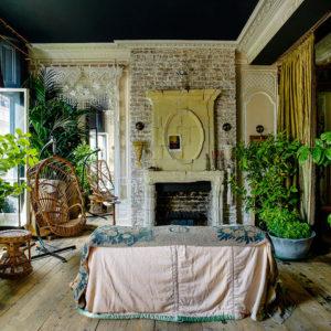 Британия: Квартира в стиле бохо-шик в Лондоне